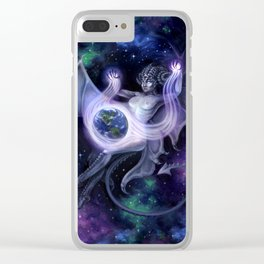 Otherworldly Clear iPhone Case