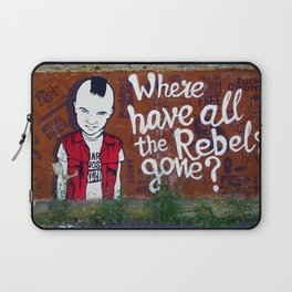 Where Have All The Rebels Gone? (Color) Laptop Sleeve