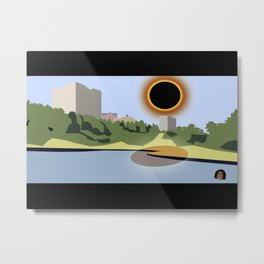 SC Eclipse 2017 Metal Print