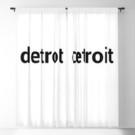 detroit Blackout Curtain
