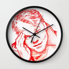 Philip Seymour Hoffman in Red Wall Clock