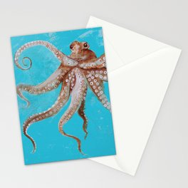 Wild Wonderful Octopus Stationery Cards
