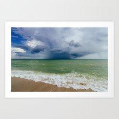 The Ocean Divide Art Print