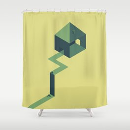 The doubt Shower Curtain