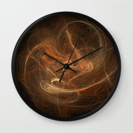 Lonely Thing - Warm Chromatic Wall Clock