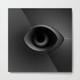 Black Holes / eye Metal Print