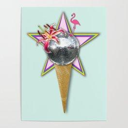 DISCO ICE CREAM Poster