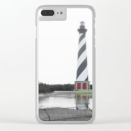 Hatteras reflection Clear iPhone Case