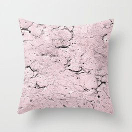 Old Stone Wall - textured I Throw Pillow