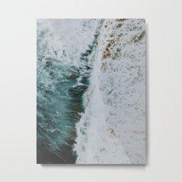 waves xvii / kaua'i, hawaii Metal Print