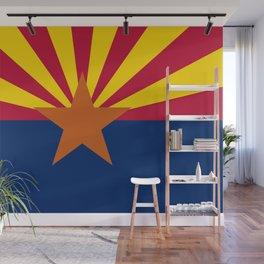 Arizona State flag Wall Mural
