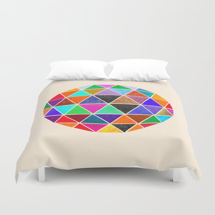 Geodesic 3 Duvet Cover
