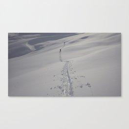 Alaska Denali Backcountry Climbing Canvas Print