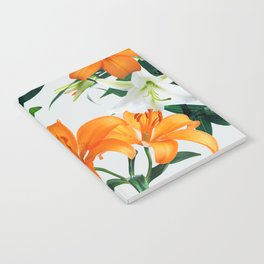 Glorious Lilies Notebook