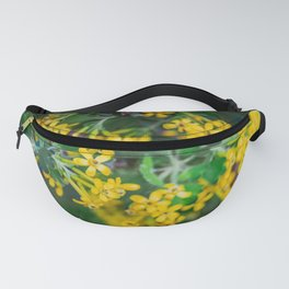Yellow Blossoms 4 Fanny Pack