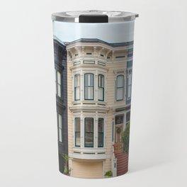 Colorful homes Travel Mug