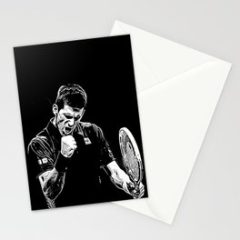Djokovic Fist Pump Stationery Cards
