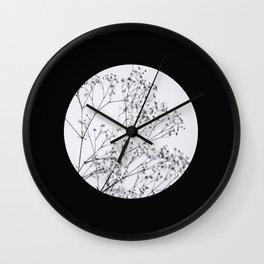 Silver Kiss I  Wall Clock