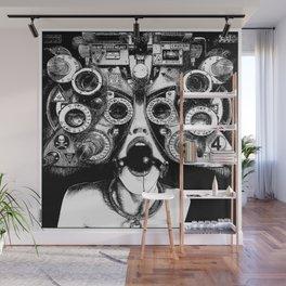 asc 712 - Le masque de la Méduse (Object woman) Wall Mural