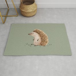 Hedgie Has a Sit Down Rug