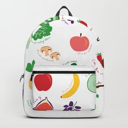 ABC Fruit and Vege Backpack