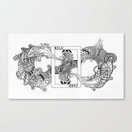 "NYTI ""WILDCARD"" Canvas Print"