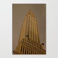 art deco Canvas Prints featuring Art Deco by Mark Giarrusso