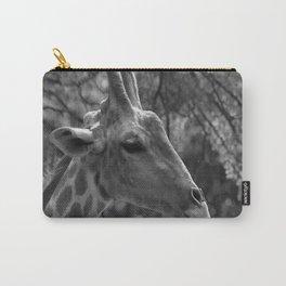 Giraffe Portrait Carry-All Pouch
