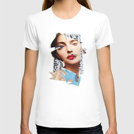 Make me beautiful | Collage T-shirt