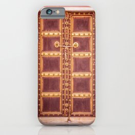 Jaipur Palace Door iPhone Case