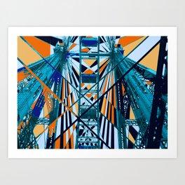 Triangulate for me Art Print