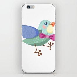 Cute Bird iPhone Skin