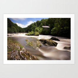Cenarth Falls Art Print