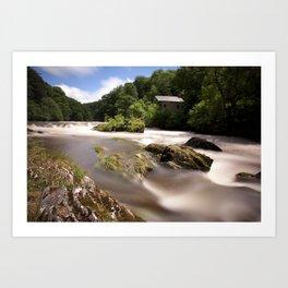 Cenarth Falls Art Print
