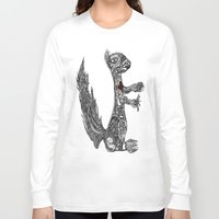 greg guillemin Long Sleeve T-shirts featuring Squirrel by Greg Phillips by SquirrelSix