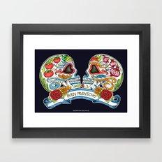 Buen Provecho ! Bon Appetit Framed Art Print