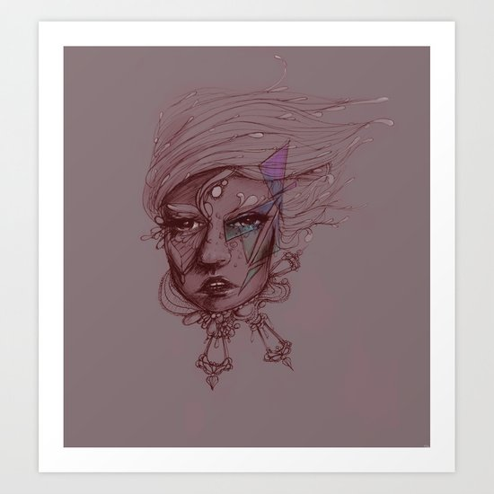 Pearl and Prism Art Print