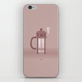 Coffee Maker Series - French Press iPhone Skin
