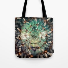 Bees: Masters of Time and Space Tote Bag