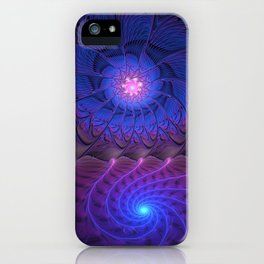 Come to me, Abstract Fractal Art iPhone Case