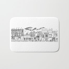 Downtown Bath Mat