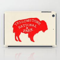 the national iPad Cases featuring Yellowstone National Park  by Terry Fan