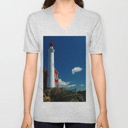 Fisgard Lighthouse Unisex V-Neck