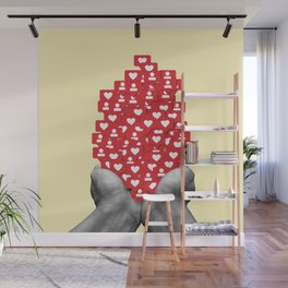 Likes and Follow Wall Mural
