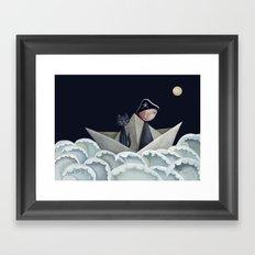 The Pirate Ship Framed Art Print