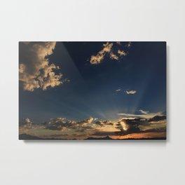 Amazing Arizona Sunsets II Metal Print