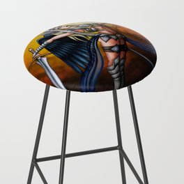 Pole Creatures: Valkyrie Bar Stool