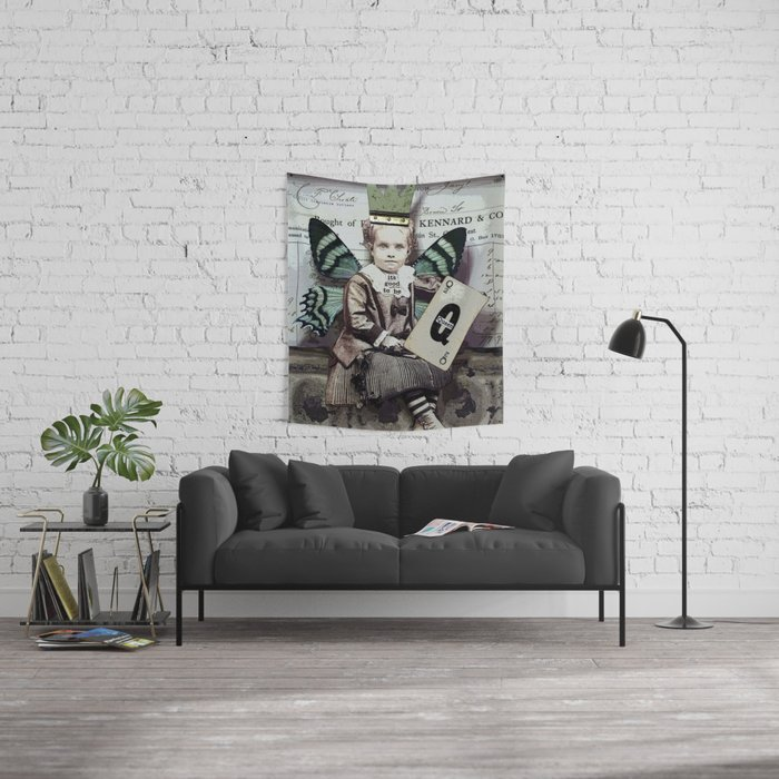 Good To Be Queen Wall Tapestry