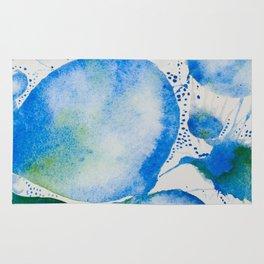 Blue Study Rug