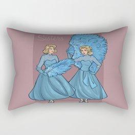 Sisters Rectangular Pillow